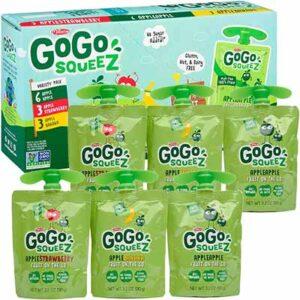 Free GoGo squeeZ Applesauce