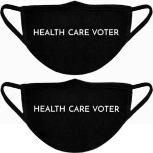 Free Health Care Voter Face Mask