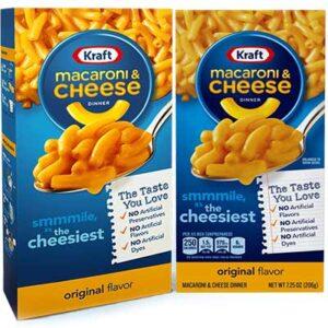 Free Kraft Mac & Cheese Box
