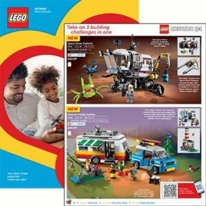 Free Lego October 2020 Catalog