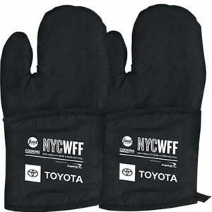 Free NYCWFF Toyota Oven Mitt