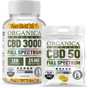 Free Organica Naturals CBD SoftGel Capsules
