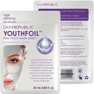 Free Skin Republic Youthfoil Face Sheet Mask