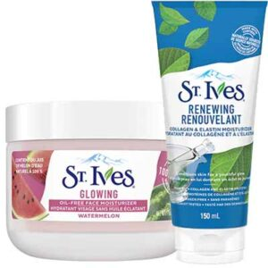 Free St. Ives Face Moisturizer Sample