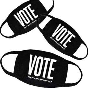 Free Vote Mask