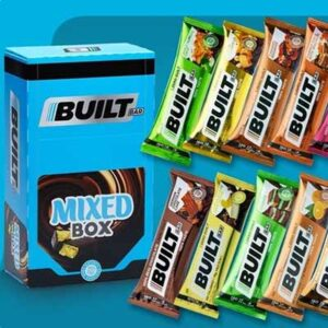 Free 6-Count Box of Built Bar Protein Bars