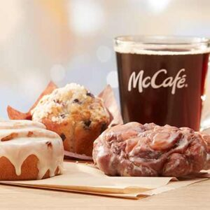Free Bakery Treat with Coffee
