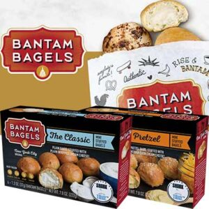 Free Bantam Bagels Sample Kit