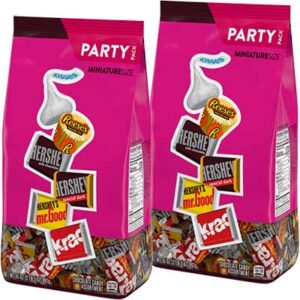 Free Hershey Miniature Size Assortment Party Pack