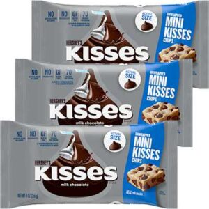 Free HERSHEY'S MINI KISSES Milk Chocolate Chips