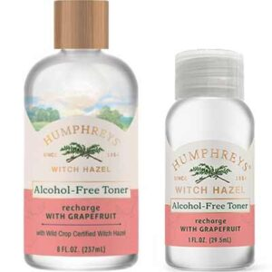 Free Humphreys Recharge Witch Hazel + Grapefruit Toner