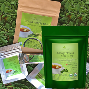 Free Moringa Tea Sample Pack