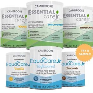 Free Samples of Essential Care Jr. or EquaCare Jr.