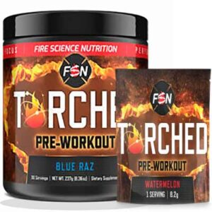Free Torched Pre-Workout Supplement Sample