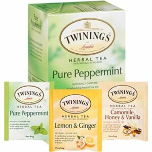 Free Twinings of London Herbal Teas