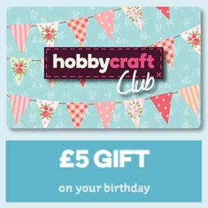 Free £5 Hobbycraft Voucher