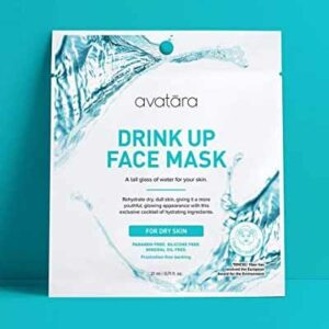 Free Avatara Drink Up Face Mask
