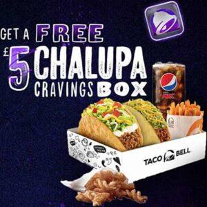 Free Chalupa Cravings Box