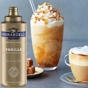 Free Ghirardelli Vanilla and Dark Chocolate Sauce