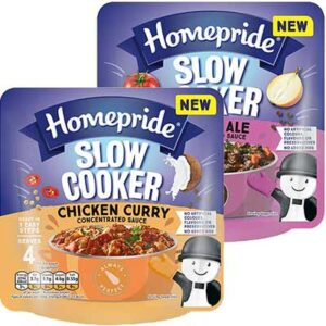 Free Homepride Slow Cooker Sauces