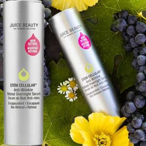 Free Juicy Beauty Stem Cellular Anti-Wrinkle Retinol Overnight Serum Sample