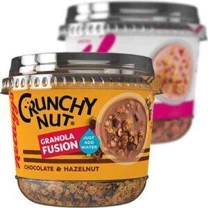Free Kellogg's Crunchy Nut Granola Fusion Choc & Hazelnut
