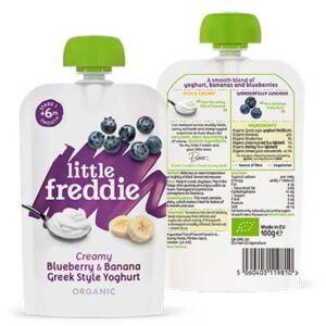 Free Little Freddie Blueberry & Banana Yoghurt