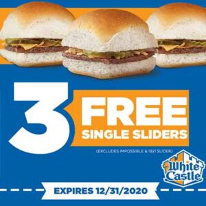 Free Sliders at White Castle