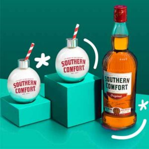 Free Southern Comfort Christmas Glasses