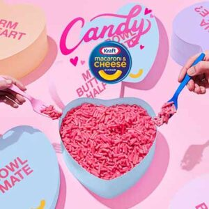 Free Candy Kraft Macaroni & Cheese Kit