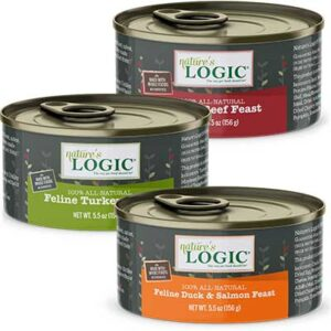 Free Cans of Nature's Logic Cat Food