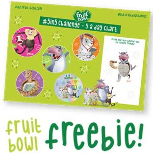 Free Kids Fruit & Veg Chart & Stickers