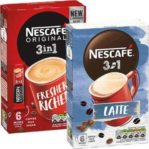 Free Nescafé 3 in 1 Instant Coffee