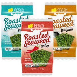 Free Ocean Snack Roasted Seaweed