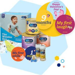 Free Set of Enfamil Belly Badges & Special Gifts