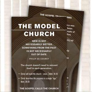 Free The Model Church Study Bookmark