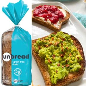 Free Unbun Foods Keto-Friendly Bread