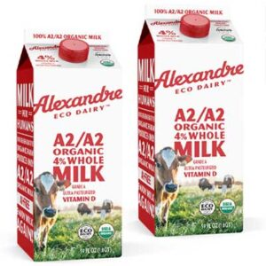 Free Alexandre Eco Dairy Regenerative Organic A2/A2 Whole Milk