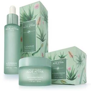 Free Aloe Attiva Face Serum & Face Cream Sample