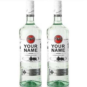 Free Bacardi Bottle With Your Name