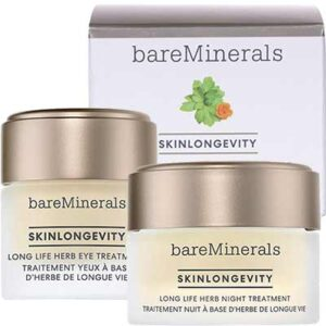 Free bareMinerals Skinlongevity Long Life Herb Night or Eye Treatment