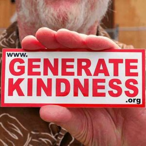 Free Generate Kindness Sticker