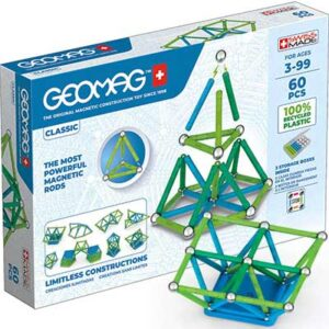 Free Geomag GREEN LINE Color Magnetic Building Set