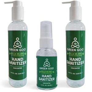 Free Green Goo Hand Sanitizer Gel