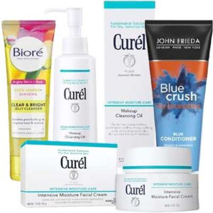Free John Frieda, Curel, and Biore Products