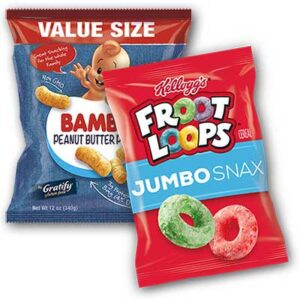 Free Kellogg's Jumbo Snax and Bamba Peanut Butter Puffs Samples