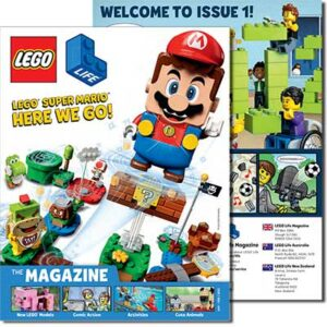 Free Lego Life Magazine (Issue 1 2021)