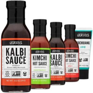 Free Lucky Foods Korean Sauces