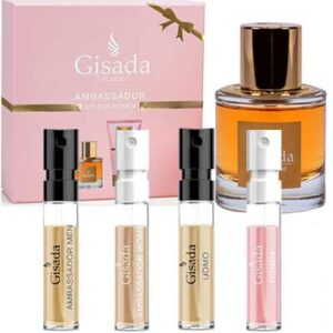 Free Sample Set Of Gisada Fragrances