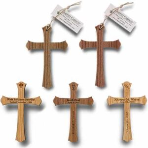Free Wooden Keepsake Cross